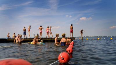 Foto van zwemlocatie | Archief EHF