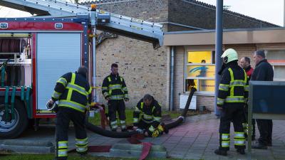 Wateroverlast bij Gezondheidscentrum in Schijndel