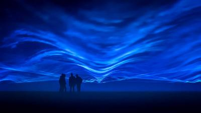 Project 'Waterlicht' van Daan Roosegaarde begin februari in Leeuwarden