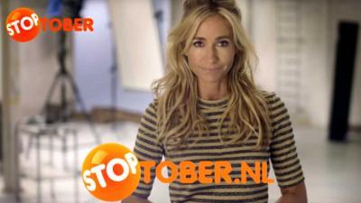 Gelegenheidsroker Wendy van Dijk ondersteunt andere rokers tijdens Stoptober