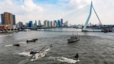 Jongeren veroveren de Haven van Rotterdam
