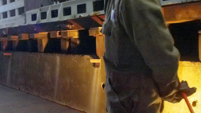 Roemenen voor 1 euro bruto per uur aan het werk op Nederlandse scheepswerven