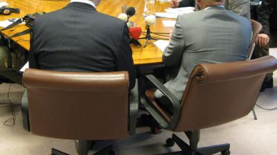 foto van wethouders Meerssen opgestapt   Archief fbf