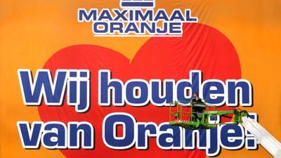 Foto van Oranje voetbal | Archief EHF
