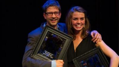 Foto van Wim Helsen cabaretier   VSCD/Anna van Kooij