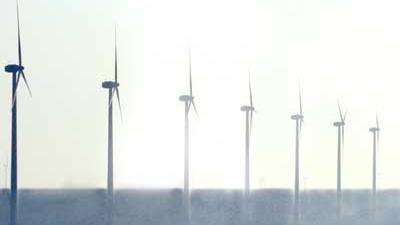 Foto van windmolenpark | Archief EHF