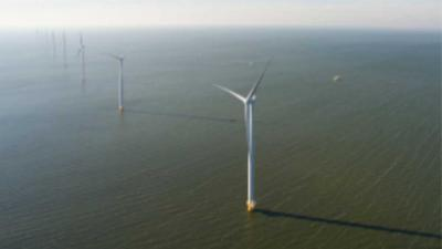Eerste stroom Westermeerwindpark aan net geleverd