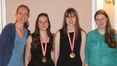 wiskunde, Internationale Wiskunde Olympiade, medaille, meisje, Michelle Sweering