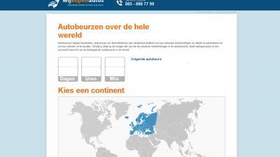 Kalender met de belangrijkste autobeurzen over de hele wereld