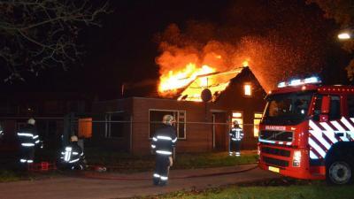 woningbrand Muntendam