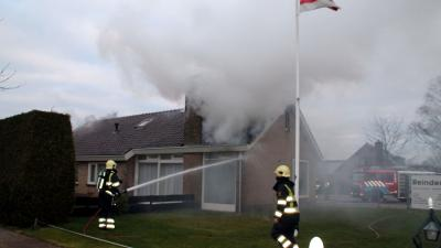 foto van woningbrand | Henk Brunink