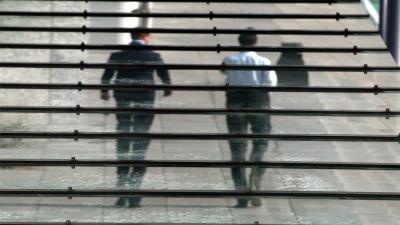 Foto van mannen op trap | Archief FBF.nl