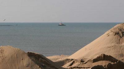 RWS stort 2,4 miljoen kuub zand voor kust Zandvoort en Bloemendaal