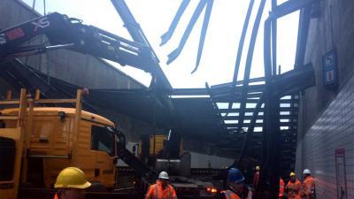 Beschadigde Zeeburgertunnel blijft in zuidelijke richting nog dicht