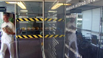 Foto van ingang ziekenhuis | Archief EHF