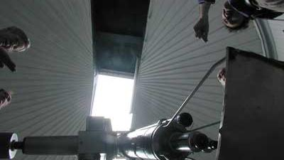 Foto van astronomen telescoop | Archief EHF
