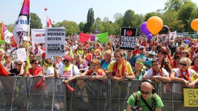 Foto van zorgmanifestatie Oosterpark | BON