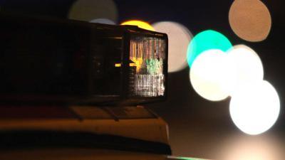 zwaailamp-donker-licht-politie