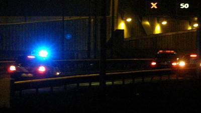 zwaailicht-snelweg-donker