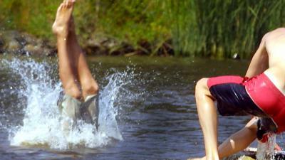 zwemmen-jongens