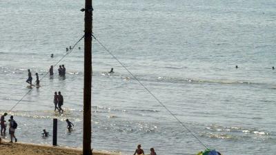 zwemmers-zee-strand
